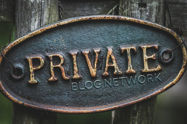 Building Private Blog Network