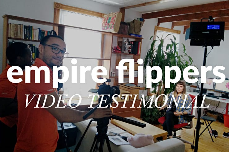 Video testimonial for Empire Flippers Featured Image