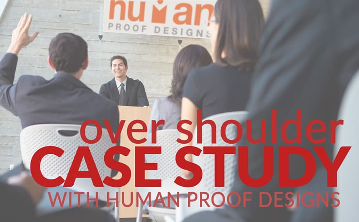 Over The Shoulder Case Study on Human Proof Designs Forum