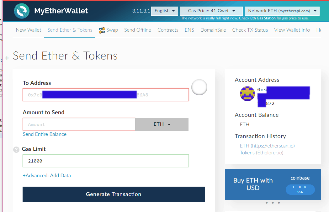 looking up cryptocurrency wallet balance