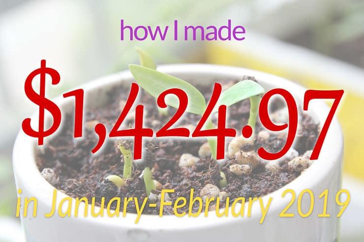 January-February income report