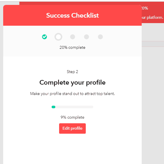 GenM complete your profile