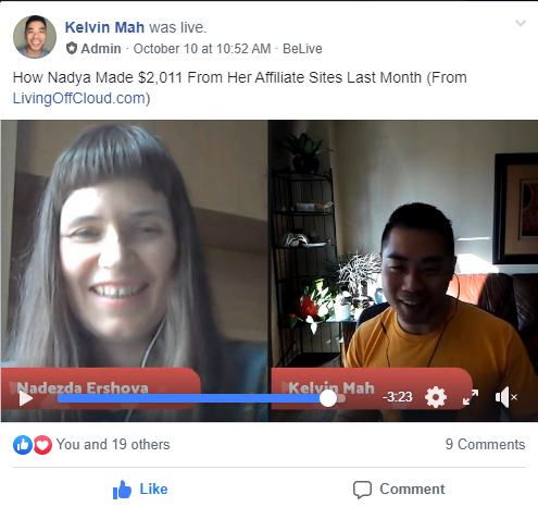My episode on the HumanProofDesigns podcast, live FB video