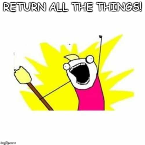 return all the things