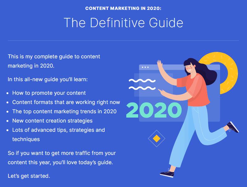 Backlinko Content Marketing Guide