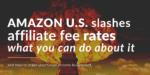 Amazon affiliate fee rate slash 2020