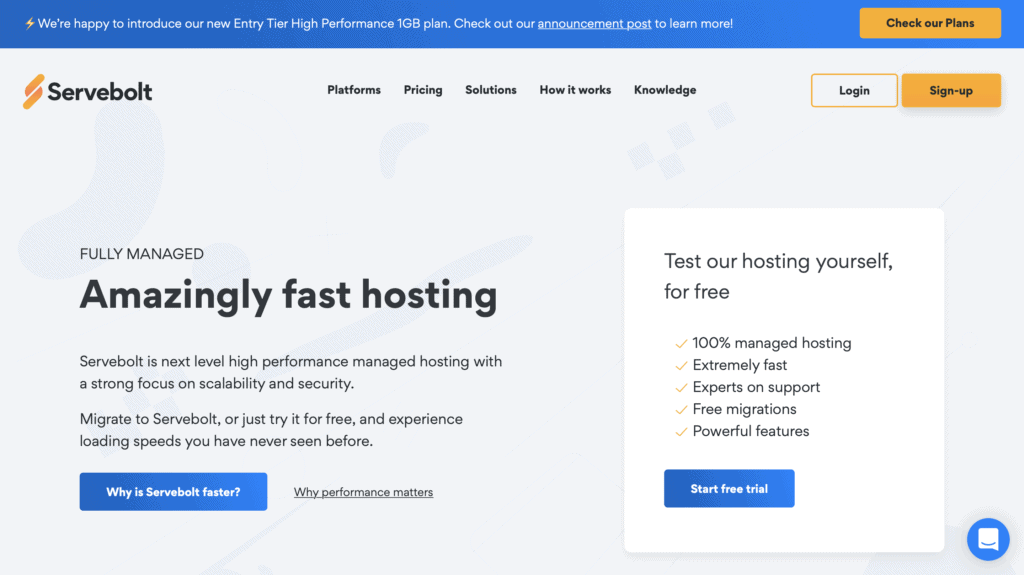 Servebolt is a hosting service that is very similar to Cloudways