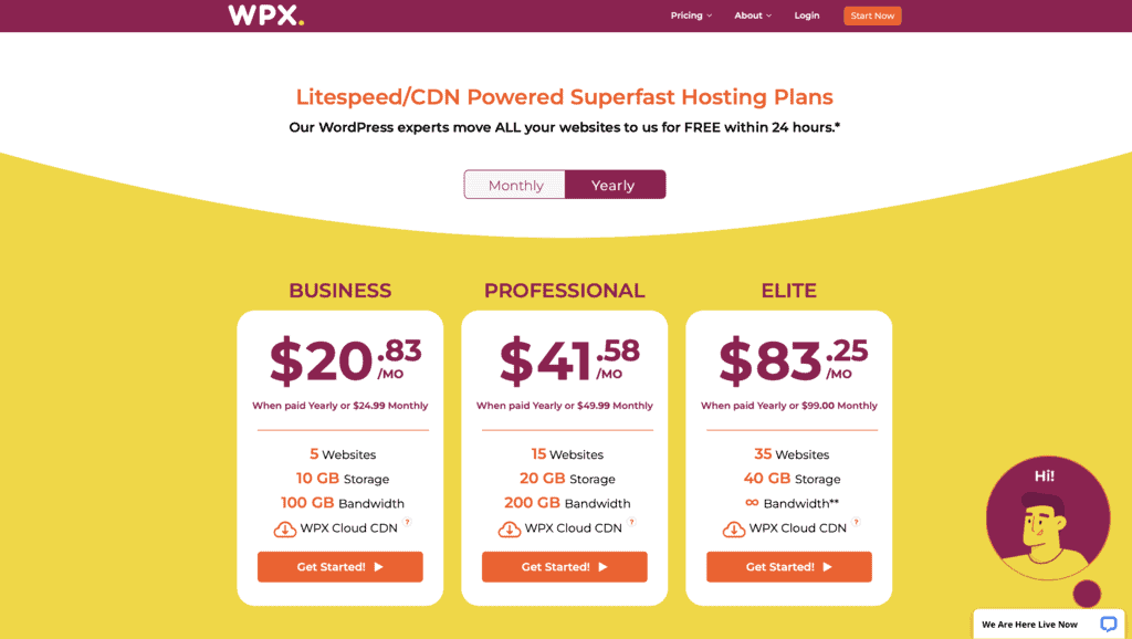 WPX is one of the most widely acclaimed hosting services