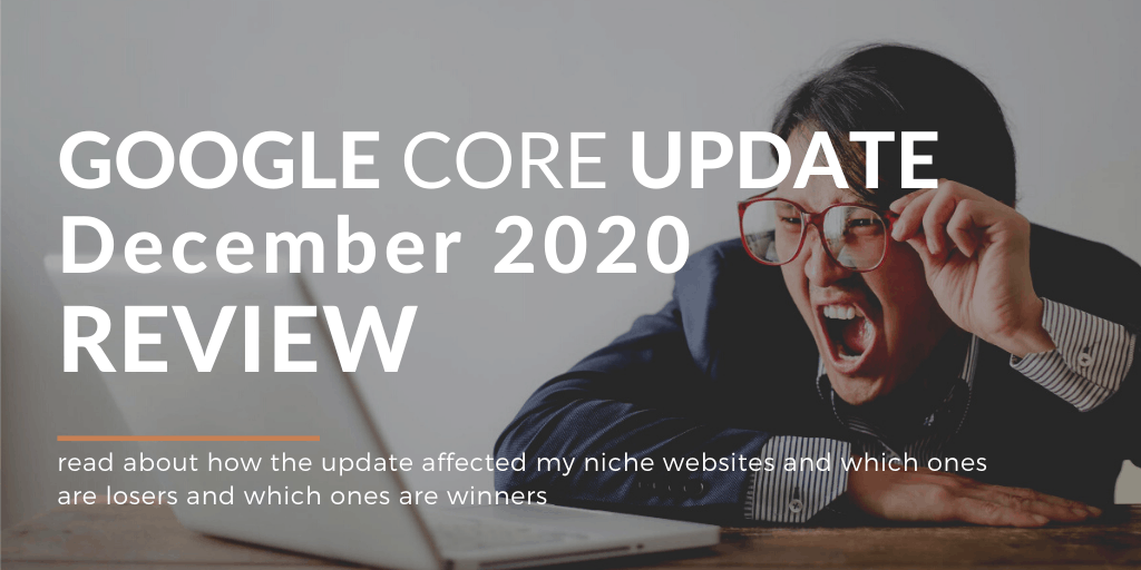 How December Google Update affected my sites