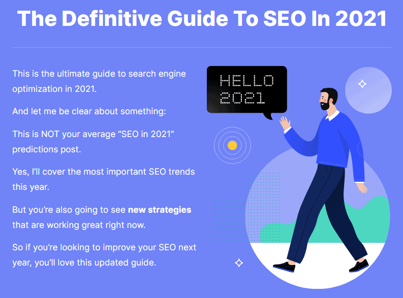 The Definitive Guide to SEO in 2021